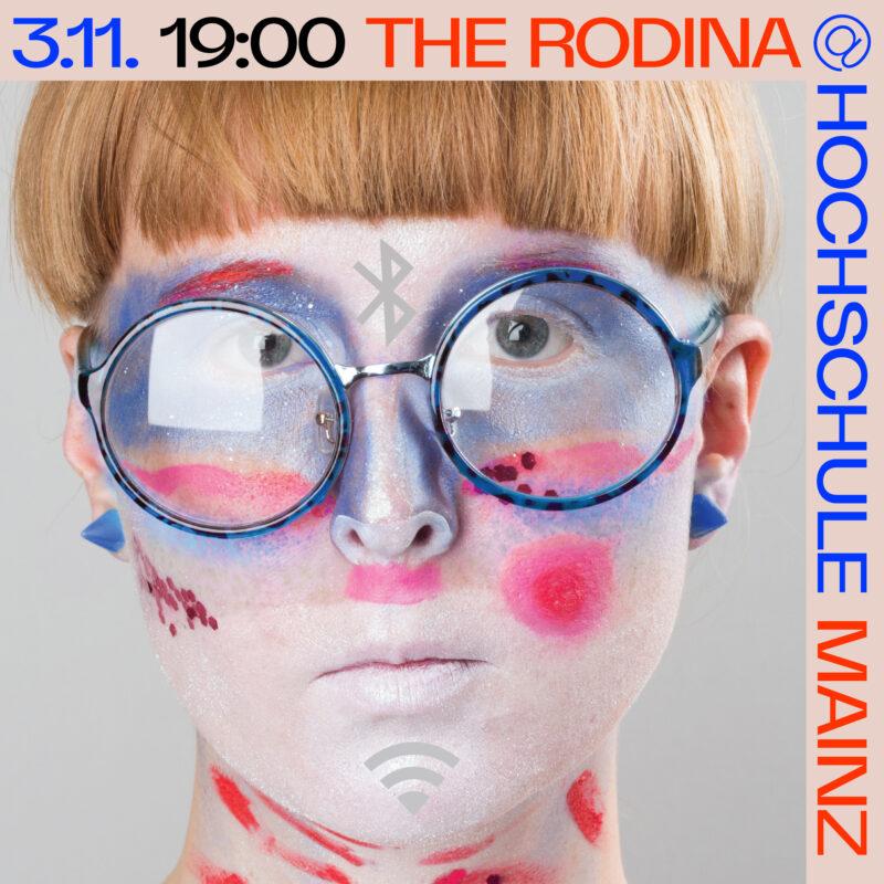 Ankündigung The Rodina am 3.11.2021